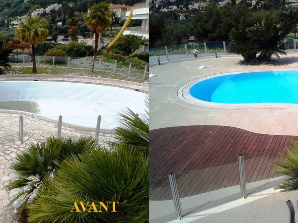 R novation piscines techbat construction for Construction piscine 09